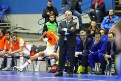 Futsal Friendly match Ukraine v Spain Stock Photography