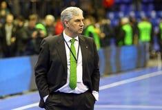 Futsal Friendly match Ukraine v Spain Stock Image