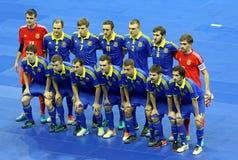 Futsal Friendly match Ukraine v Spain Royalty Free Stock Photography
