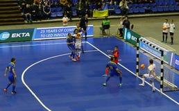 Futsal Friendly match Ukraine v Spain Royalty Free Stock Images