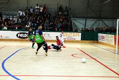 Futsal show Royalty Free Stock Photography