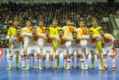 Futsal Spanien royaltyfri bild