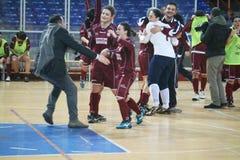 Futsal zwycięzcy Obrazy Stock