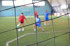 Futsals-Amateurspiel stockbilder
