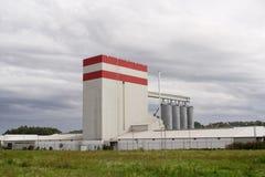Futterfabrik Stockfoto