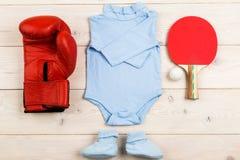 Futur boxeur ou joueur de tennis Images libres de droits