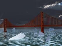 Futur changement climatique Photographie stock