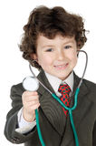 Futur docteur adorable photos libres de droits