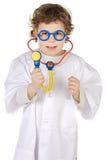 Futur docteur adorable Image libre de droits