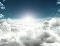 Futur espoir en ciel Images libres de droits