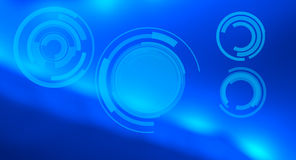 Future abstract blue background Royalty Free Stock Images