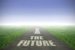 The future ahead Royalty Free Stock Image