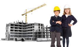Future architects Stock Photography