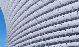 Future architecture Construction futuriste Construction moderne Futur concept Image stock