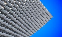 Future architecture Construction futuriste Construction moderne Futur concept Photo libre de droits