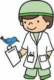 Future Avian Vet Stock Photo