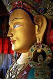 Future buddha at Thikse monastery. Bautiful future buddha at Thikse monasteryin Leh, Ladakh, India Royalty Free Stock Image