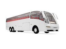 Future bus isolated view Royalty Free Stock Photo