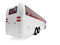 Future bus isolated view Royalty Free Stock Images
