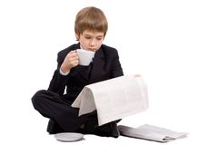 The future businessman Royalty Free Stock Photography