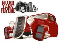 Future car 1 Royalty Free Stock Photos