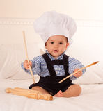 Future chef Royalty Free Stock Photography