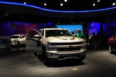Future Chevy truck on display Stock Photography
