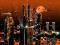 Future city Stock Image
