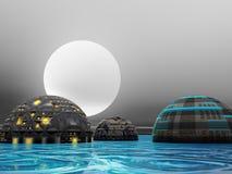 Future City Royalty Free Stock Image