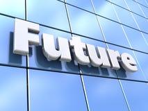 Future city Royalty Free Stock Photo