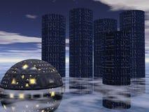 Future City Five stock photos