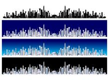 Future city Royalty Free Stock Photography