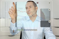 Future Computer Display Stock Images