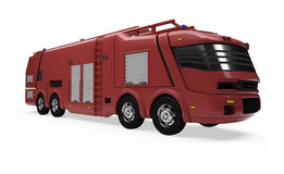 Future concept of firetruck isolated view Stock Images