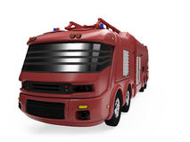 Future concept of firetruck isolated view Stock Photography