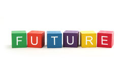 Future. Concept isolated on white background Royalty Free Stock Image