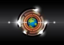 Future digital technology Stock Photography