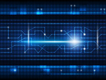 Future digital  technology background Stock Images