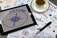 future direction concept Stock Photography