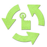Future eco green energy recycle Stock Photos