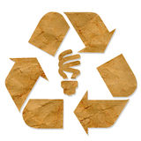 Future eco green energy recycle Royalty Free Stock Image