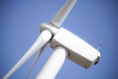 The Future of Energy - Windmill Closeup Royalty Free Stock Images