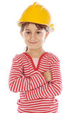 Future engineer girl Stock Images