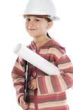 Future engineer girl Stock Photo