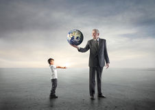 Future Generations Stock Photo