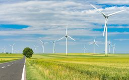 Future green energy Stock Images