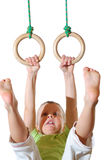 Future gymnastics champion Stock Photos