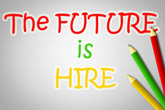 The Future Is Here Concept Royalty Free Stock Photo