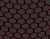 Future Honeycomb Hexagonal Abstract Background. Future Honeycomb Hexagonal Abstract on black Background Stock Images