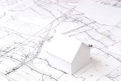 Future house planning Stock Photography